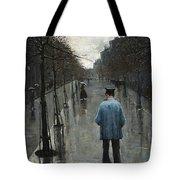 Boulevard Des Batignolles Tote Bag