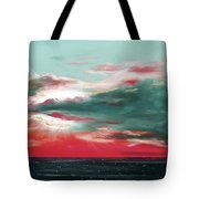 Bound Of Glory - Panoramic Sunset  Tote Bag