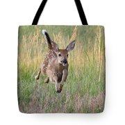 Bounding Bambi Tote Bag