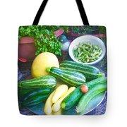 Bounty Of Yummy Veggies Tote Bag
