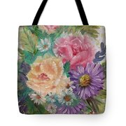 Bouquet 2 Tote Bag
