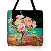 Bouquet De Roses - Marrakech Tote Bag