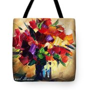 Bouquet For Sweeheart Tote Bag