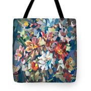 Bouquet Near The Window Tote Bag