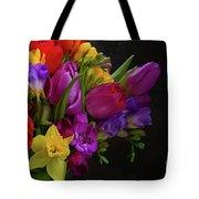 Floral Dance Tote Bag