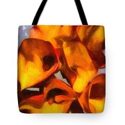 Bouquet Of Calla Lilies Tote Bag