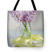 Bouquet Of Hyacinth Tote Bag
