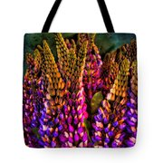 Bouquet Of Lupin Tote Bag