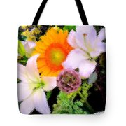 Bouquet Softly There Tote Bag