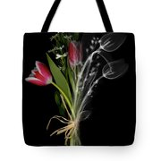 Bouquet X-ray Tote Bag