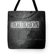 Bourbon In Black And White Tote Bag