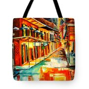 Bourbon Street Blitz Tote Bag