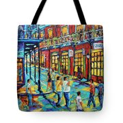 Bourbon Street New Orleans By Prankearts Tote Bag