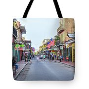 Bourbon Street - New Orleans Louisianna Tote Bag