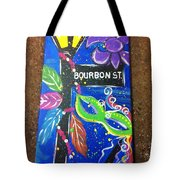 Bourbon Street Original Tote Bag