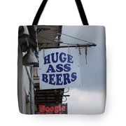 Bourbon Street Signs Tote Bag