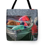 Bouys In A Boat Tote Bag