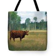Bovine Bliss Tote Bag by Skye Ryan-Evans