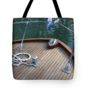 Bow And Chain  Tote Bag