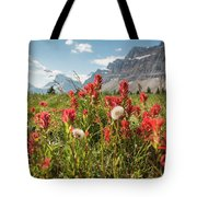 Bow Flowers Tote Bag