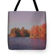 Bow Lake New Hampshire Autumn Colors Tote Bag