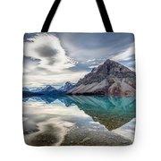 Bow Lake Sky Tote Bag