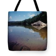 Bow Lake Tranquility Tote Bag