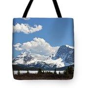 Bow Lake Vista Tote Bag