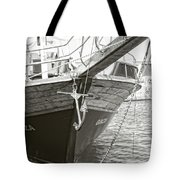 Bow Of The Boat Tote Bag