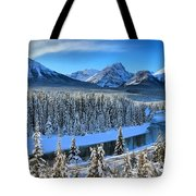 Bow River Valley View Tote Bag