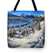 Bow Valley Mountains Tote Bag