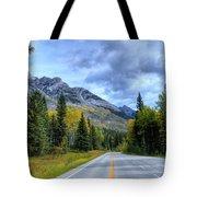 Bow Valley Parkway Banff National Park Alberta Canada Vi Tote Bag