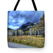 Bow Valley Parkway Banff National Park Alberta Canada Tote Bag