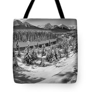 Morant's Curve Black And White Tote Bag