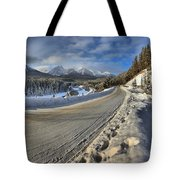 Bow Valley Winter Wonderland Tote Bag