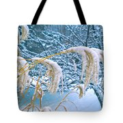Bowed Grass Heads Tote Bag