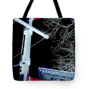Bowery And Ramone Place Tote Bag