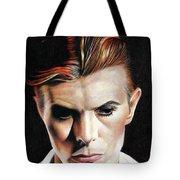 Bowie Thin White Duke Tote Bag