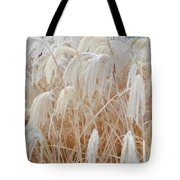 Bowing To Snow Tote Bag