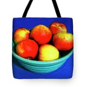 Bowl Of Apples Tote Bag