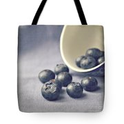 Bowl Of Blueberries Tote Bag