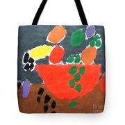 Bowl Of Fruit Tote Bag