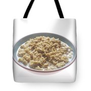 Bowl Of Oatmeal Tote Bag