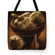Bowl With Garlic Tote Bag