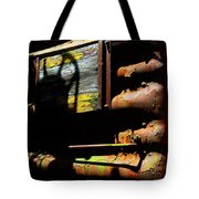 Boxcar Past Its Time Tote Bag