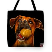 Boxer Mix Dog Art - 8173 - Bb Tote Bag