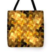 Boxes Yellow Art Tote Bag