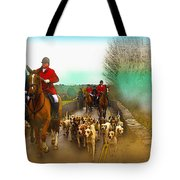 Boxing Day Hunt Tote Bag