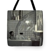 Boy And The Bubble Tote Bag