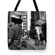 Boy Caught  Tote Bag